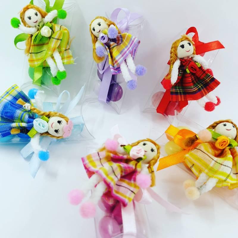 bomboniere bambole originali confezione abbinata
