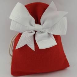 sacchetti rossi per cresima...