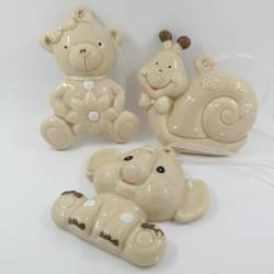 Dumbo bomboniere battesimo porcellana lucida