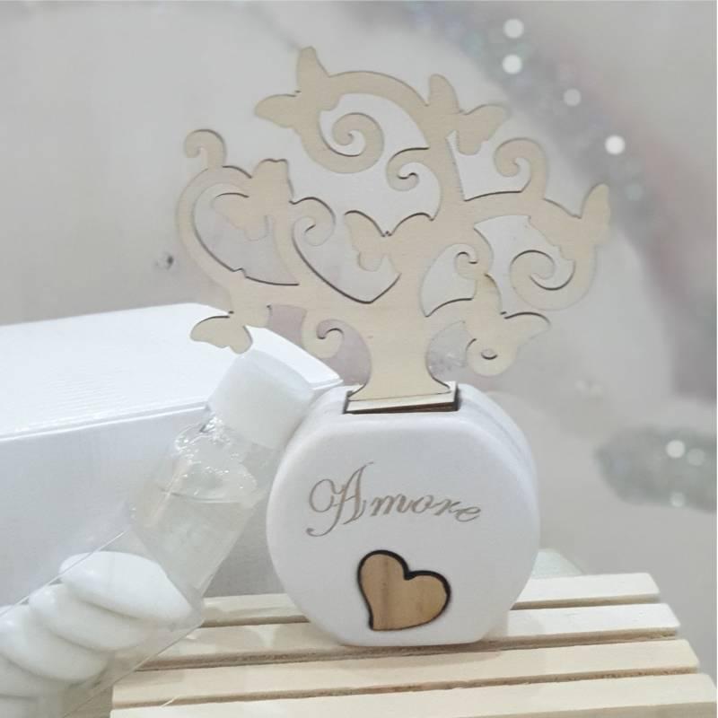 """Dolcicose profumatore bomboniera """"amore"""" albero della vita"""