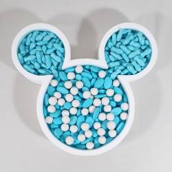 Contenitore per confettata topolino in polistirolo
