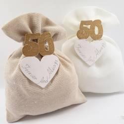 Sacchetti per 50 anni di Matrimonio