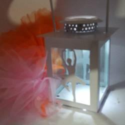 Lanterna ballerina bomboniera luce led