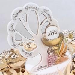La torta di bomboniera Comunione