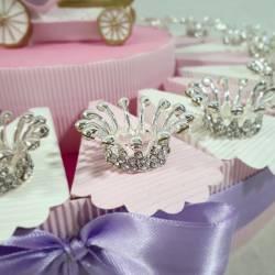 Torta bomboniera principessa