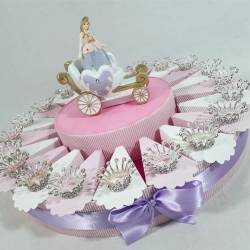 Torta bomboniera corona di principessa