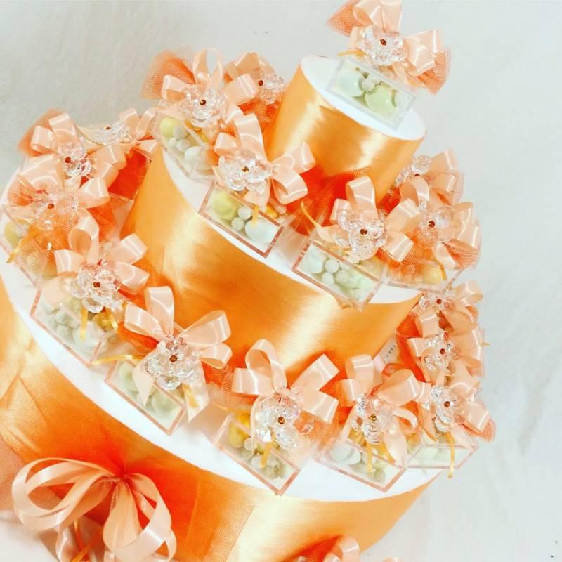 Bomboniere Comunione swarovski fiore con strass