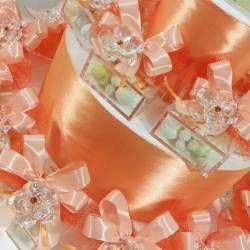 Bomboniere swarovski Comunione fiore in cristallo