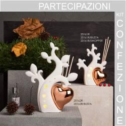Albero bianco in ceramica Bomboniere Claraluna albero della vita profumatore
