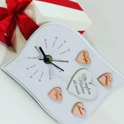 Idee regalo per la madrina orologio frase Alla miglior madrina del mondo