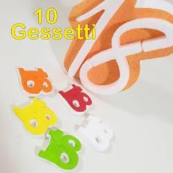 Gessetti colorati per bomboniere 18 anni