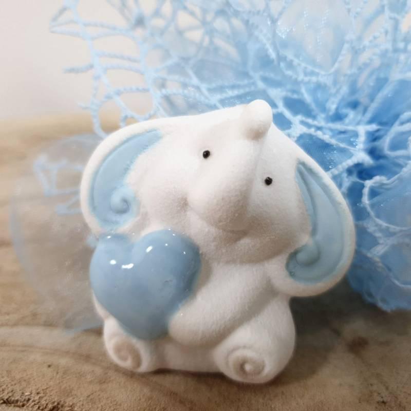 Dumbo bomboniere Battesimo a calamita bimbo