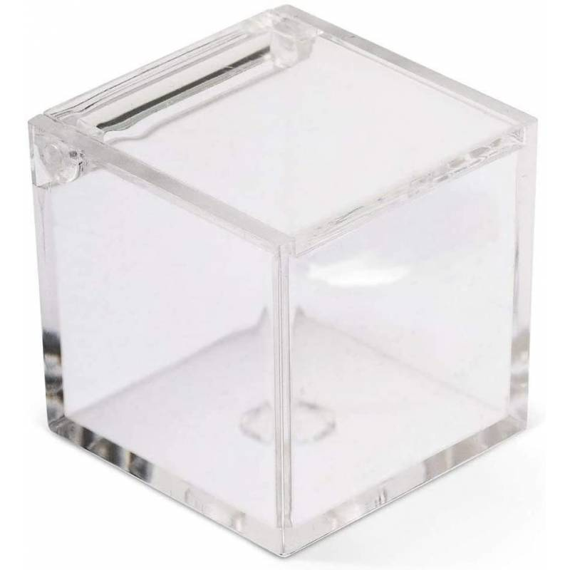 Scatole plexiglass bomboniere Cresima