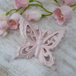 Bomboniere farfalle battesimo bimba ceramica pugliese