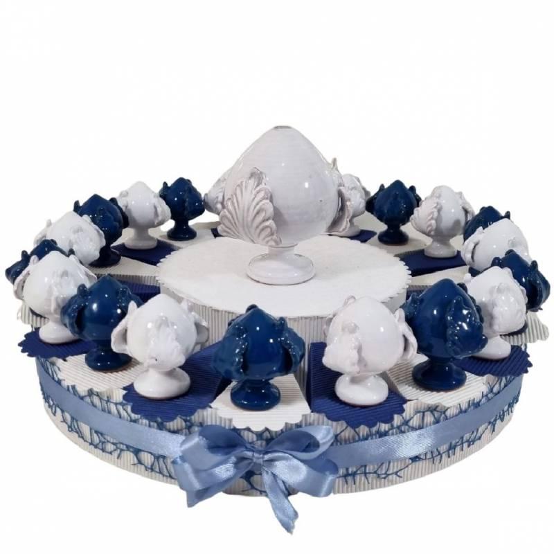 Torta bomboniere Battesimo offerta pumi pugliesi