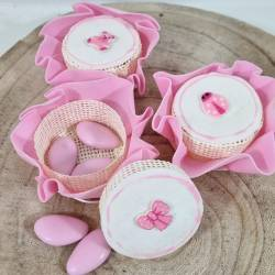 Portaconfetti nascita bimba offerta online 100 pezzi