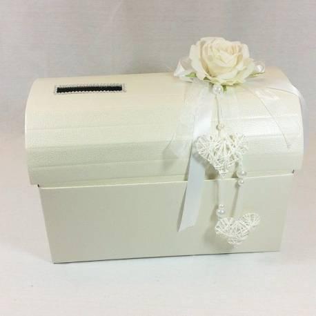 Porta Bomboniere Matrimonio.Baule Porta Buste Regalo Matrimonio Portabuste No Confetti Bomboniere Sposi