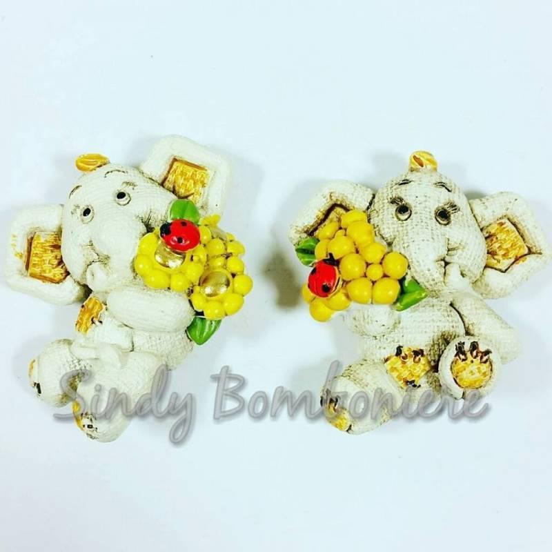 Bomboniere Baby Shower Fai Da Te ~ Fai da te bomboniere magnete elefante per nascita