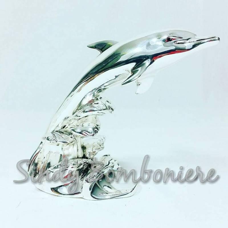 Argenti its laminati delfino appoggio soprammobile arredo for Regalo casa mobile