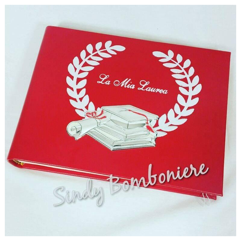 Fabuleux Agenda in Pelle rossa con penna tocco laurea idea regalo di laurea US88