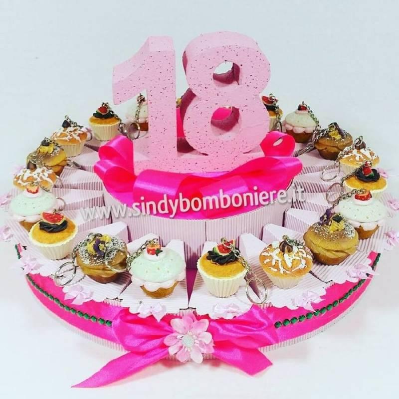 Favoloso Bomboniere 18 anni ( diciottesimo ) compleanno peperoncino corno  NG02