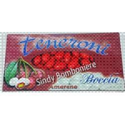 Confetti rossi boccia alla ciliegia con mandorla offerta da 1kg per Confettata, Apri Festa, confetti Bomboniere