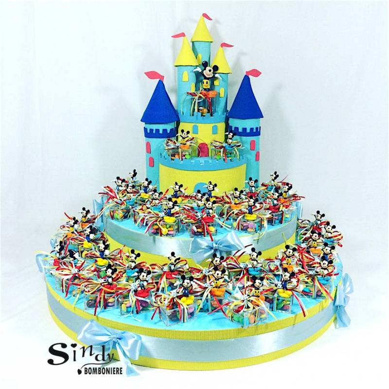 Amato Torte con personaggi walt Disney, cartoni animati - Bomboniere  LY15