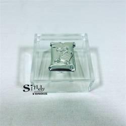 BOMBONIERE LAUREA fai da te offerta icona laminato argento SCATOLA PLEXIGLAS