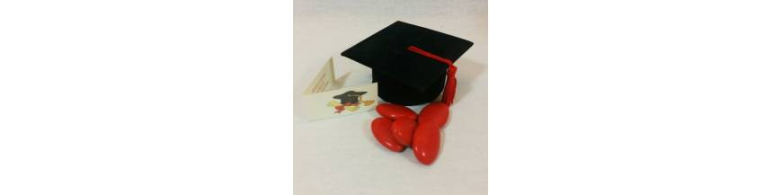 Portaconfetti bomboniera per laurea economica e originale