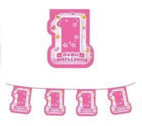 confettate festoni 1° compleanno